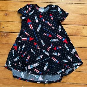 Lularoe Kids 4th of July Dress